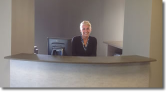 Our Receptionist
